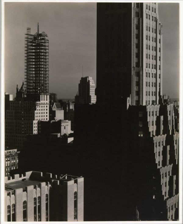 From My Window at the Shelton, North (1931) - Alfred Stieglitz